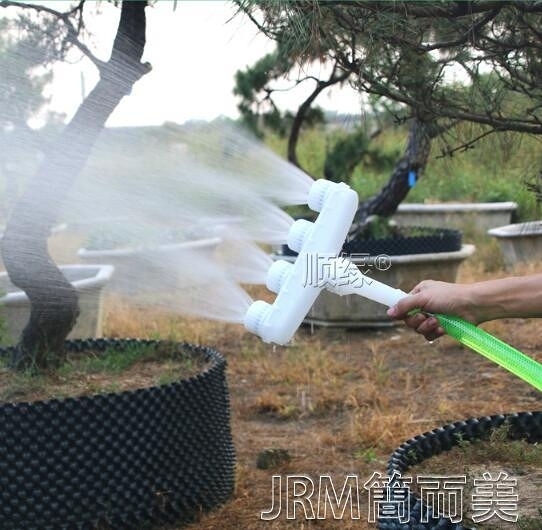 噴水器澆水神器農用澆地澆菜灌溉噴頭大棚霧化灑水器水霧園林自動噴 快速出貨