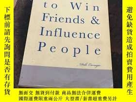二手書博民逛書店How罕見to Win Friends &Influence PeopleY260873