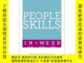 二手書博民逛書店Successful罕見People Skills in a Week: Teach ...-一周成功人士技能:教