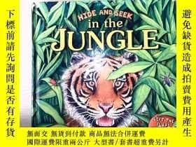 二手書博民逛書店HIDE罕見AND SEEK in the JUNGLEY253683
