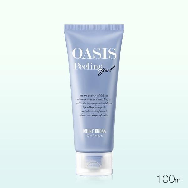 韓國 OASIS 礦物綠洲 毛孔暢快去角質凝霜 100ml  Peeling Gel【PQ 美妝】