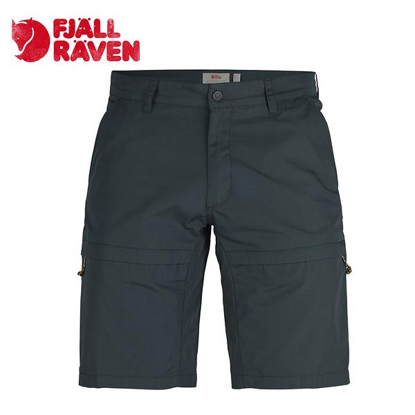 瑞典 Fjallraven 小狐狸 Travellers Shorts G-1000 防潑水休閒耐磨短褲 男款 暗深藍 #81542