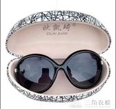 太陽鏡女品牌女士太陽鏡新款墨鏡偏光防曬眼鏡歐美防紫外線太陽鏡 三角衣櫃 三角衣櫃