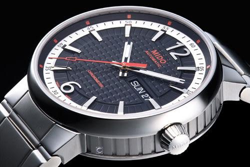 MIDO Great Wall 天文台認證機械錶 M0154311105700 黑