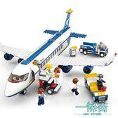 積木男孩益智拼插警車軍事飛機兒童拼裝玩具3-6-10-12周歲