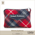 Kinloch Anderson 金安德森 皮夾 英式學院 紅/藍 經典格紋女夾 零錢包 KA151209 MyBag得意時袋