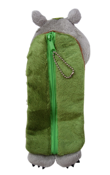 【卡漫城】 龍貓 筆袋 二款選一 化妝包 絨毛 小物 收納袋 萬用包 鉛筆袋 Totoro 吊飾