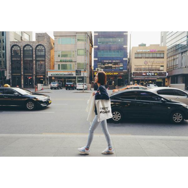手提包 帆布袋 手提袋 環保購物袋【DEA0001】 icoca  08/18