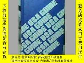 二手書博民逛書店Pan罕見Am's USA guide237800 PAN AM