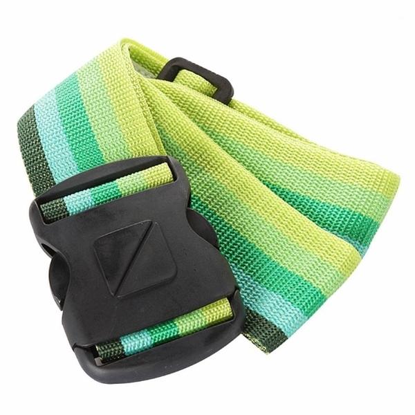 【南紡購物中心】【 Travel Blue 藍旅 旅行配件 】 Luggage Strap 2吋 行李束帶 綠色 TB040-GR