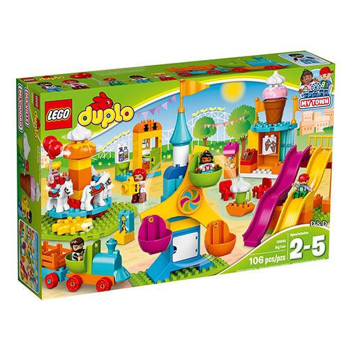 樂高積木 LEGO《 LT10840 》Duplo 得寶系列 - 大型遊樂場╭★ JOYBUS玩具百貨
