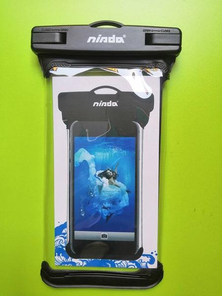 【鼎立資訊】Nisda 手機防水袋 6 智慧型手機防水袋 6吋手機皆可 適用iphone 華為 三星