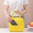 保溫袋 新款便當包學生午餐袋保溫包上班族手提拎牛津布飯盒袋野餐冰包-Ballet朵朵