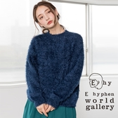 ❖ Hot item ❖ 素面毛絨針織上衣 - E hyphen world gallery