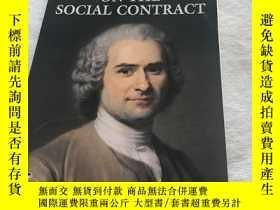 二手書博民逛書店On罕見the social contract 社會契約論Y30