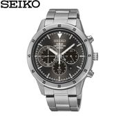 【時間光廊】SEIKO 精工錶 Criteria 光動能 三眼錶 藍寶石水晶鏡面 全新原廠公司貨 SSC341P1