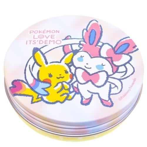 素晴館 日本 It's Demo & Pokemon 精靈寶可夢 聯名限定 防曬蜜粉餅 SPF20 PA++(皮卡丘&仙子精靈款)