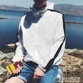 男士防曬衣男潮流個性韓版港風bf夏天外套青少年超薄修身薄款甲克 概念3C旗舰店