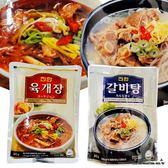 韓國真韓辣味牛肉湯/牛排湯 調理包-600g 專為獨身貴族準備的營養湯品