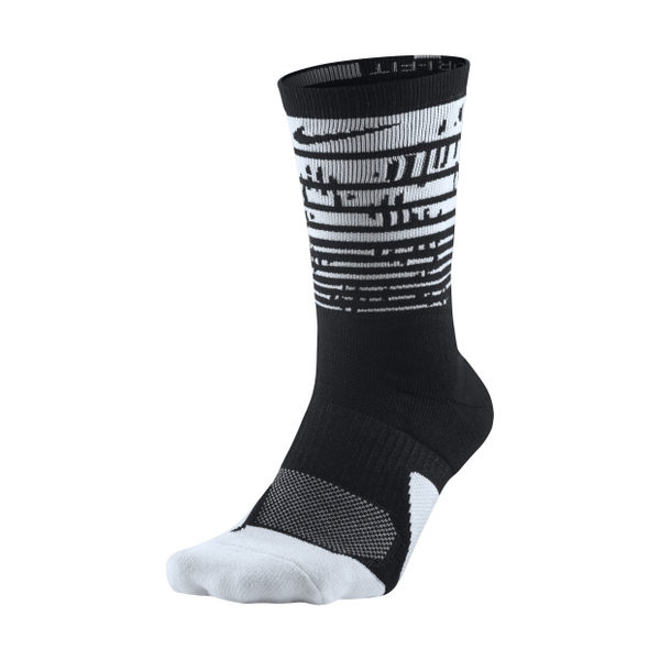 Nike Elite Crew 黑 白 菁英氣墊襪 籃球長襪 中筒襪 DRI-FIT 襪子 1.5 Plus SX7009-010