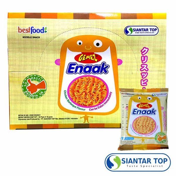 韓國 Enaak 小雞點心麵 香脆點心麵 (16g×30包/盒) 隨手包 香脆點心麵 點心脆麵 小雞麵 科學麵