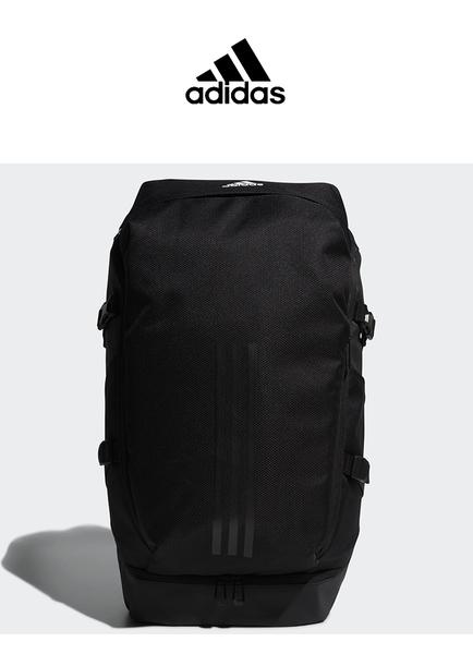 愛迪達 adidas 三葉草 後背包 黑色 FK2239男女中包大包運動包書包雙肩包電腦包登山包/澤米