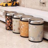 智慧垃圾桶 感應垃圾桶家用客廳廚房衛生間歐式智慧垃圾桶免腳踏充電式垃圾筒 igo 玩趣3C