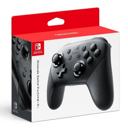 【軟體世界】Nintendo Switch NS PRO 原廠控制器 (黑)