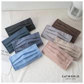 Catworld 可水洗台灣製口罩保護套/成人款【18003570】‧F