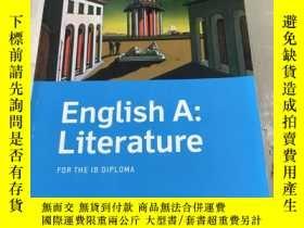 二手書博民逛書店English罕見A: Literature FOR THE I