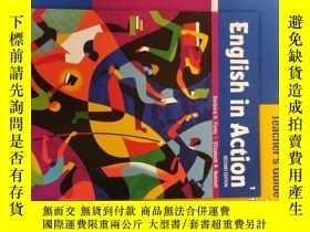 二手書博民逛書店ENGLISH罕見IN ACTION 1--TEACHERS GUIDEY23583 Foley BUXIAN