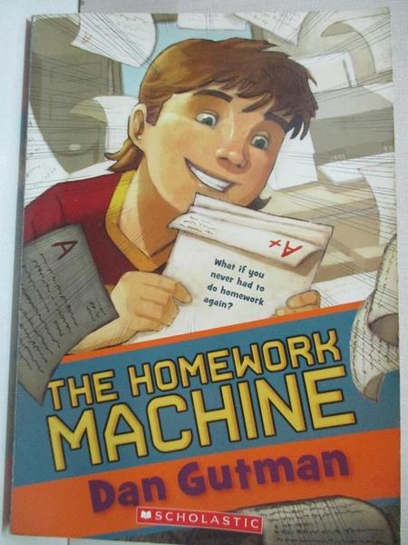 【書寶二手書T1/原文小說_A2X】Homework Machine_Gutman Dan