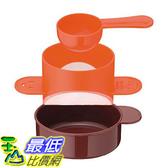 [東京直購] 下村企販 單人咖啡濾杯 31135 日本製 附量匙 橘色 免濾紙 咖啡粉適用