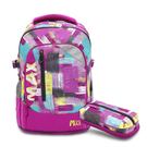 【TigerFamily】MAX系列超輕量護脊書包-葡萄紫(含鉛筆盒)