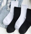 白色長襪子女中筒襪ins潮