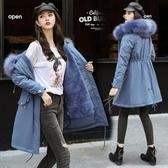 冬季女式加厚羊羔絨派克服羽絨棉衣大碼修身女學生棉服外套 俏女孩