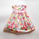 玫瑰連身公主氣質洋裝  連身洋裝  無袖 背心洋裝 橘魔法 Baby magic 現貨
