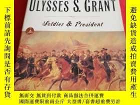 二手書博民逛書店ULYSSES S.GRANT罕見Soldier preside