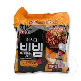 韓國 農心 拌先生韓式炸雞風味乾麵 (148g*4)【庫奇小舖】