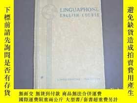 二手書博民逛書店LINGUAPHONE罕見ENGLISH COURSE 英語語言課程Y41593 LINGUAPHONE IN