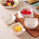兒童卡通陶瓷米飯碗吃飯碗可愛湯碗家用個性日式小碗沙拉碗【八五折免運直出】