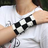 春夏薄防曬運動遮疤痕紋身彩色手腕套護腕袖套護肘小手臂男女
