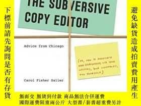 二手書博民逛書店The罕見Subversive Copy Editor Seco