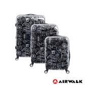 AIRWALK - 精彩歷程 環郵世界行李箱20+24+28吋3件組-共2色