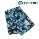 COOLCORE CHILL SPORT 涼感運動巾 數位迷彩藍 BLUE DIGI CAMO (涼感運動毛巾、降溫、運動、運動巾)