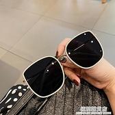 2020年新款韓版大框方形太陽鏡女網紅款ins風墨鏡防紫外線眼鏡男 極簡雜貨