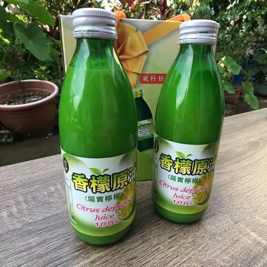 (免運費)【福三滿】台灣香檬原汁6瓶/組