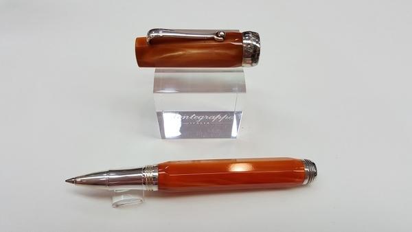 萬特佳Montegrappa-義大利書寫精品第一品牌-鋼珠筆-188659(桔)
