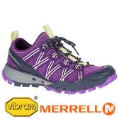 【MERRELL 美國】CHOPROCK 女水陸兩棲鞋『紫/檸檬黃』033454 功能鞋.多功能鞋.休閒鞋.登山鞋