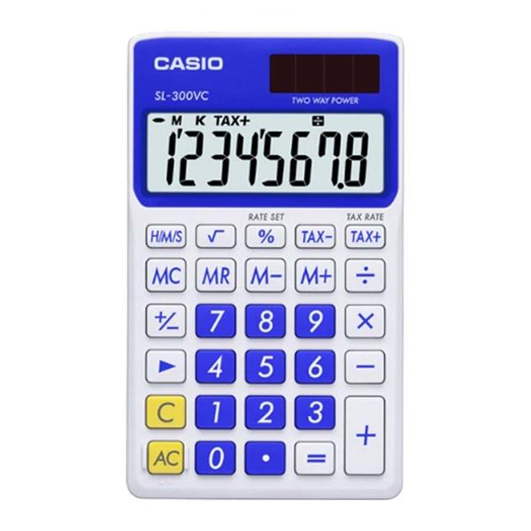 CASIO 卡西歐 計算機專賣店 SL-300VC-BE 輕巧型計算機 百分比計算 稅率計算 利潤計算